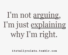 the truth of arguments