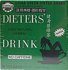 China Green Dieters Tea Caffeine Free