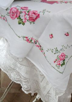 You must have pretty linens...