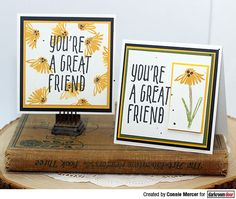 crafty goodies: Great Friend Small Stamp by Darkroom Door~ Flower Stamp, Ink Pads, Great Friends, Altered Art, Hand Stamped, Favorite Color, Card Stock, Stencils, Goodies