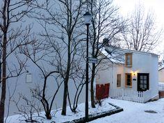 Little house in Reykjavik