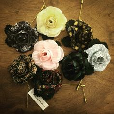 #boutonniere Pursuit Of Happiness, Silk Flowers, Artist