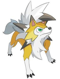 Lycanroc Dusk Form by nganlamsong