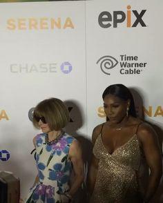 6/14/16 #QueenRena slaying at the premiere of her authorized documentary #Serena! ... Via Serena Williams: Werkkkk