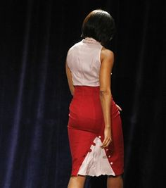 Mrs. O - Still one of my fav outfits of hers