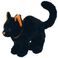 TY Beanie Baby 2.0 - SCAREDY the Black Cat (5.5 inch)