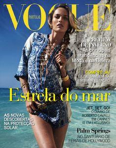 Karmen Pedaru by Cedric Buchet Vogue Portugal August 2011 Vogue Magazine Covers, Vogue Covers, Roberto Cavalli, Palm Springs, Cannes, Michelle Alves, Ines Rivero, Kelly Emberg, Vogue Portugal