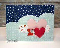 Atlantic Hearts Sketch Challenge #299!, Happy Heart, CTMH, Hearts, Valentine, Valentine Cards, Valentines, Heart Sketch, Buffet Ideas, Happy Heart, Piece Of Me, Close To My Heart, Card Ideas, Layouts