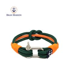 Gates Nautical Bracelet by Bran Marion Nautical Bracelet, Nautical Jewelry, Reef Knot, Marine Rope, Boat Accessories, Paracord Projects, Paracord Bracelets, Everyday Look, Handmade Bracelets