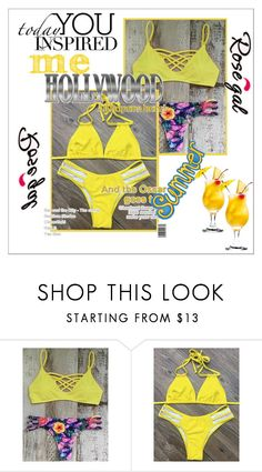"""""""Summer"""" by mujkic-merima ❤ liked on Polyvore featuring Summer and rosegal"""
