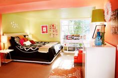 Colorful Bright Fun Bedroom