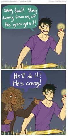 Percy Jackson, Hazel Levesque, Heroes of Olympus: The Son of Neptune Percabeth, Solangelo, Percy Jackson Memes, Percy Jackson Books, Percy Jackson Fandom, Percy Jackson Fan Art Funny, Magnus Chase, Annabeth Chase, Castle Tv