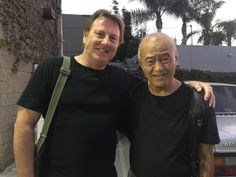 Reuniting with Sifu Dan Inosanto in July 2016