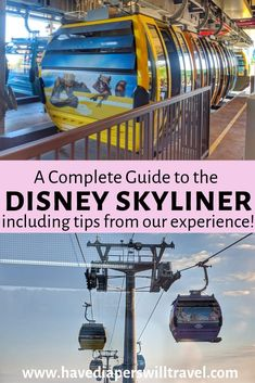 Read all about our experience on the brand new Disney Skyliner including all of the information on the different stations and routes, our insider tips - and if they're really as hot as people said they would be! | Disney Skyliner | Walt Disney World | Disney transportation #disneyskyliner #waltdisneyworld