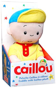 Caillou's Cuddle with Caillou Plush Doll (36cm)