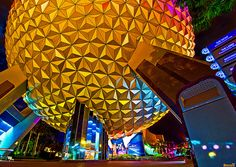 Walt Disney World - EPCOT Center - SpaceShip Earth