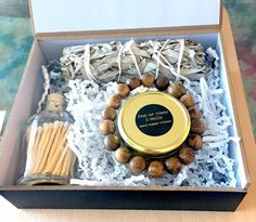 CLEARING GIFT BOX This gift box helps to clear stuck or negative energy. --- #JOYJourneyOfYou #JOY #NaturalHealing #naturalHealth #Smile #Inspo #ShareTheJoy #gift #giftIdeas Clear Gift Boxes, Natural Healing, New Product, Joy, Candles, Smile, Gifts, Favors, Candy
