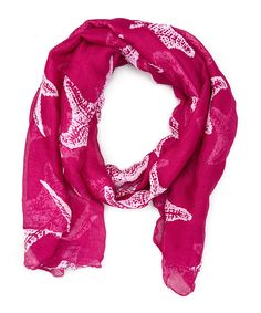 Look at this Pink Starfish Scarf on #zulily today!