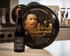El queso Rembrandt tiene un gran sabor, así que hay que asegurarse de escoger un vino que sea capaz de atravesar el queso. Es importante recordar que, cuanto más maduro sea el queso, más dominará al vino, así que es aconsejable elegir uno que no se pierda bajo el sabor añejo.