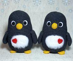 Free penguin crochet pattern! #crochet #amigurumi