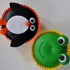 Fondant Cupcakes, Cupcake Cakes, Cupcake Ideas, Animal Cupcakes, Girl Birthday, Biscuits, Oreos, Ariel, Party