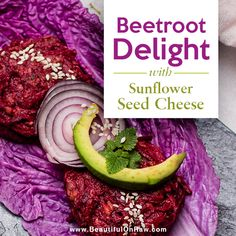 Beetroot Delight | Beautiful on Raw Raw Vegan Recipes, Vegan Food, A Food, Sunflower Seed Cheese, Natural Sugar, Beetroot, Beets, Food Processor Recipes, Dishes