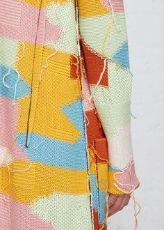 Jacquard Knit Duster