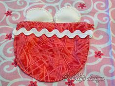 dolly's designs: The Little Chick Apron