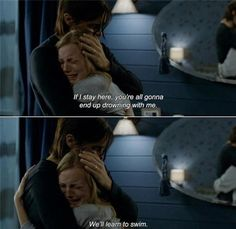 """anamorphosis-and-isolate: """"― Mr. Nobody Elise: If I stay here, you're all gonna end up drowning with me. Nemo: We'll learn to swim. Mr Nobody Quotes, Stay Quotes, Film Quotes, Mood Quotes, Romantic Movie Quotes, Favorite Movie Quotes, Darwin Gray, Learn To Swim, Postive Quotes"""