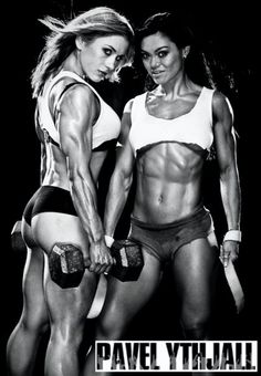 I want to look like this....And then I will crush you ^_^
