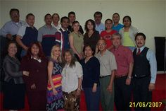 Grupo de estudiantes del curso Métodos de Consejería Bíblica con la maestra Natalie Carley en Cd. Juárez Chihuahua México en el 2007.
