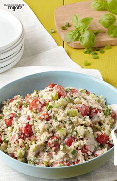 Quinoa au citron et au basilic - Le quinoa, apprêté d'appétissante façon !