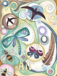 """Elements Air:  """"#Air,"""" by Jaine Rose."""