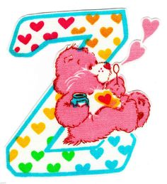 ❤️Care Bears and Friends ~ The Letter Z