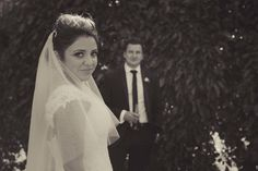 Kat Stanley Photography :: Garden Wedding :: Outdoor wedding :: Bride :: Groom :: Wedding photography :: Black and white photography