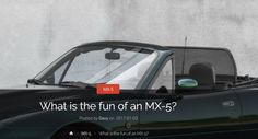 "What is the fun of an MX-5?  Many people asked me: ""what is the fun of owning and driving a Mazda MX-5?"". Let me start with giving you a little tour back in time.  It was around spring 2010 that I was talking to a good friend (who owns a gray MX-5 from 1998). He was telling about the club he joined and how they enjoy cruising the country with the top down. He told me that this would also be a lot of fun for me and that he was looking for a good co-pilot to read the road books. And he was…"