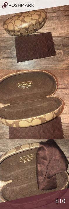 c1e2110a199 Coach Sunglass Case Barely used Coach Sunglass Case. Coach Accessories  Sunglasses