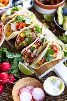 breakfast tacos... yum