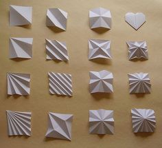 Uchiyama A origami bases | Uchiyama A baze i moje srce za or… | Flickr