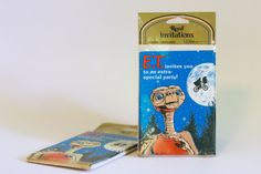 E.T. the Extra Terrestrial Party Invitations by FocusingDaily
