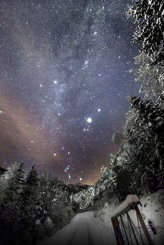 """""""The Gate"""" by Tore Heggelund / Torehegg, 5 Feb location not stated (but possibly Norway) Beautiful Sky, Beautiful World, Beautiful Pictures, All Nature, Science And Nature, Cosmos, Et Wallpaper, To Infinity And Beyond, Jolie Photo"""