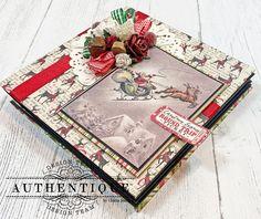 Christmas Mini Albums, Christmas Journal, Christmas Minis, Merry Christmas, Mini Scrapbook Albums, Pocket Scrapbooking, Christmas Day Celebration, Mini Album Tutorial, Fancy Fold Cards