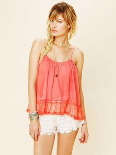 FP ONE Solid Cami  http://www.freepeople.com/whats-new/fp-one-solid-cami/