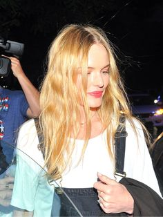 Kate Bosworth has one of our 10 best beauty looks of the week. Colored Curly Hair, Fashion Idol, Come Undone, Kate Bosworth, Celebrity Beauty, Boho Hairstyles, Crazy Hair, Beauty Full, Hair Health