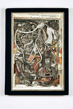 livres sculptes Brian Dettmer-18
