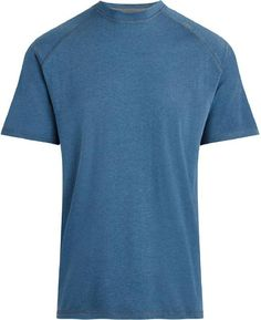 Hit the gym or the trails in the men's tasc Performance Carrollton T-shirt. Its moisture-wicking fabric keeps you comfy and shields you from the sun while you enjoy the fresh air. Available at REI, Satisfaction Guaranteed. Hiking Gear Women, Hiking Tips, Mens Running Shirts, Hiking Shirts, Patagonia Nano Puff, Workout Shirts, Shirt Style, Short Sleeves, Camping Hammock