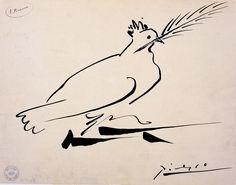 12. Pablo_Picasso_Colombe_de_la_paix_1950Musee_art_et_histoire_SaintDenis_(c)Succession_Picasso_2016