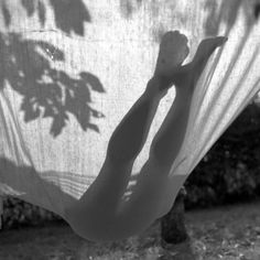 Black and white photo of shadow in a hammock. I think it looks really cool x Morning Mood, Monday Morning, Good Morning, Shadow Play, Foto Pose, Summer Of Love, Summer Days, Summer Sun, Summer Beach
