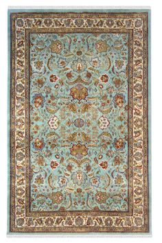 Buy Handmade Wool area rug and carpets, turk neel kashan carpet at affordable prices from Yak Carpet. Yak Carpet is best Rugs and Carpet store in India. Carpet Stores, Indian Rugs, Gold Rug, Washable Rugs, Buy Rugs, Afghan Rugs, Wool Carpet, Persian Carpet, How To Clean Carpet