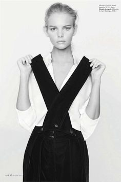 Marloes Horst Is 'Best Dressed' By Bruno Staub For Elle US June 2013 - 8 Style | Sensuality Living - Anne of Carversville Women's News